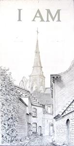 Korte Sint Anna black and white