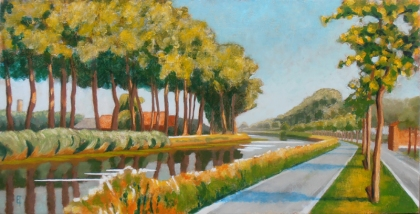 Bend in the Damse Vaart