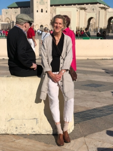 Self portrait in Casablanca
